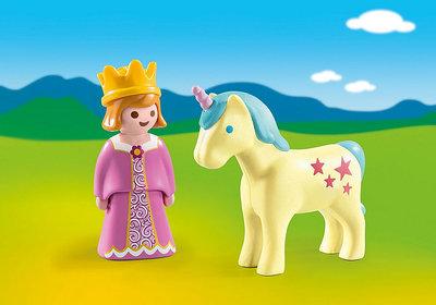 1.2.3. Playmobil Princes met eenhoorn