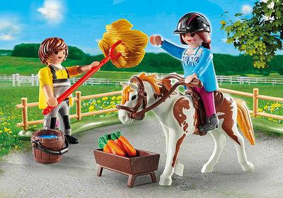Playmobil Starterpack Uitbreidingsset manege