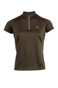 Montar Everly polo crystal logo Olive