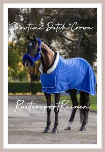 HB Dutch Crown Showdeken Royal Blue