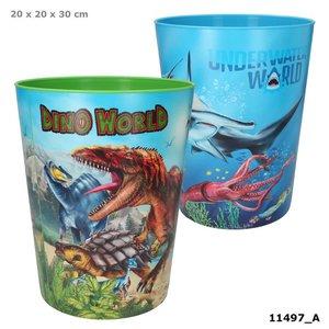 Dino World prullenbak