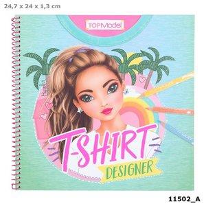 TOPModel T-shirt Designer kleurboek