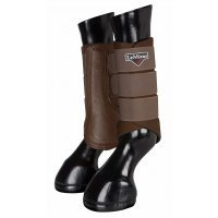 LeMieux Grafter Brushing Boots Brown
