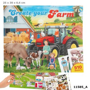 Create your Farm drawing book