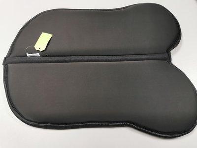 Cellpad Zadelonderlegger Classic Custom zwart Shimmer