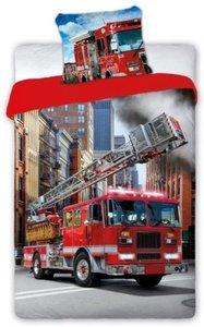Dekbedovertrek Brandweerwagen