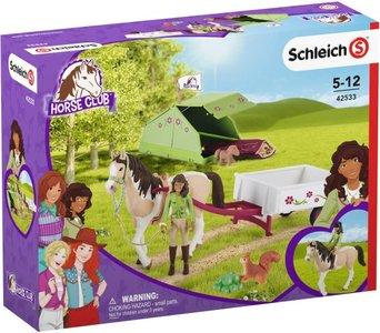 Schleich Sarah's camping avontuur