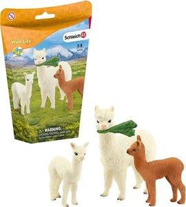 Schleich Alpaca familie