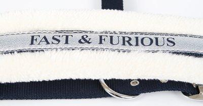 Halster Lyrics S21: FAST AND FURIOUS (navy)