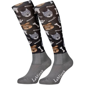 LeMieux Footsie Socks Dogs