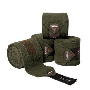 LeMieux Luxury CC Polo Bandages Oak Green