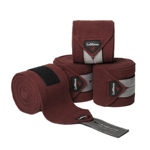 LeMieux Luxury CC Polo Bandages Rioja