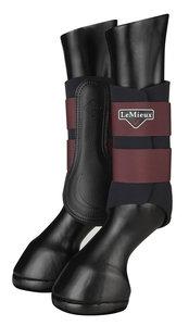 LeMieux Grafter Brushing Boots Rioja
