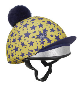 LeMieux Mini Hat silks/capcover Dijon