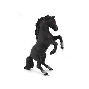 Papo Stijgerend zwart paard