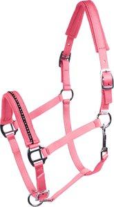 Halster met strass Roze