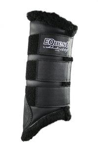 Peesbeschermers Equest Soft Zwart-zwart