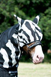 Vliegenmasker Buca Zebra